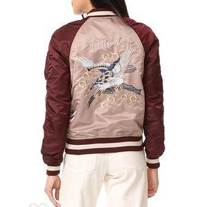 Alpha industries M1 reversible eagle jacket M
